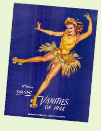 Skating Vanities souvenir program - 1948