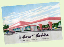 Vintage Florida drive in - The Great Gables Drive-In