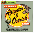 Casper's Alligator & Ostrich Farm - Ltd. Ed.